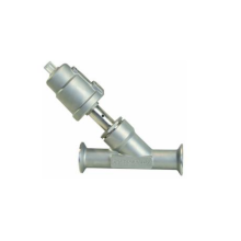 Sanitary Quick-Fit Angle Seat Valve