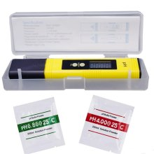 0.01 Digital PH Meter Tester Pocket Size PH Tester Large LCD Display / for Food, Aquarium, Pool Hydroponics /