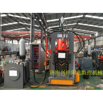 L-Shape Steel Punching/marking/cutting Line