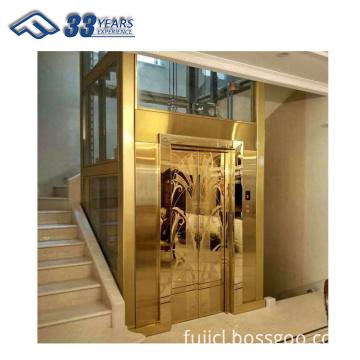 2 person 2 floors home villa elevator