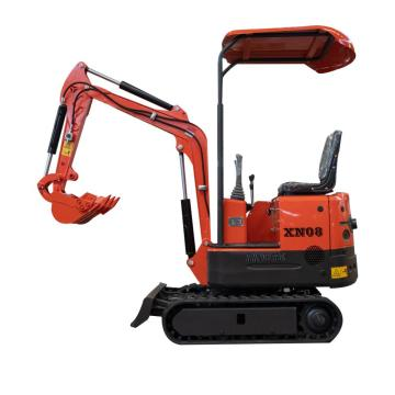Mini Crawler Excavator for Garden With Rubber Track