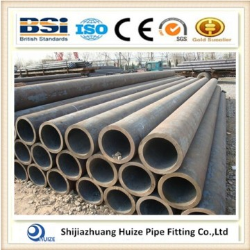 Alloy steel tube with end cap