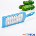 stainless steel kitchen grater with plastic handle