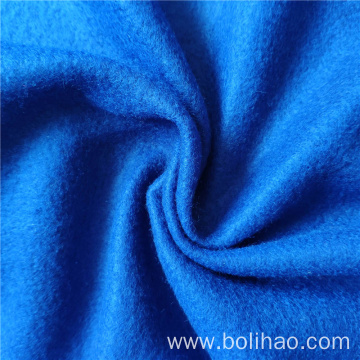 Plain Dye Brushed Raised Polar Fleece Fabric