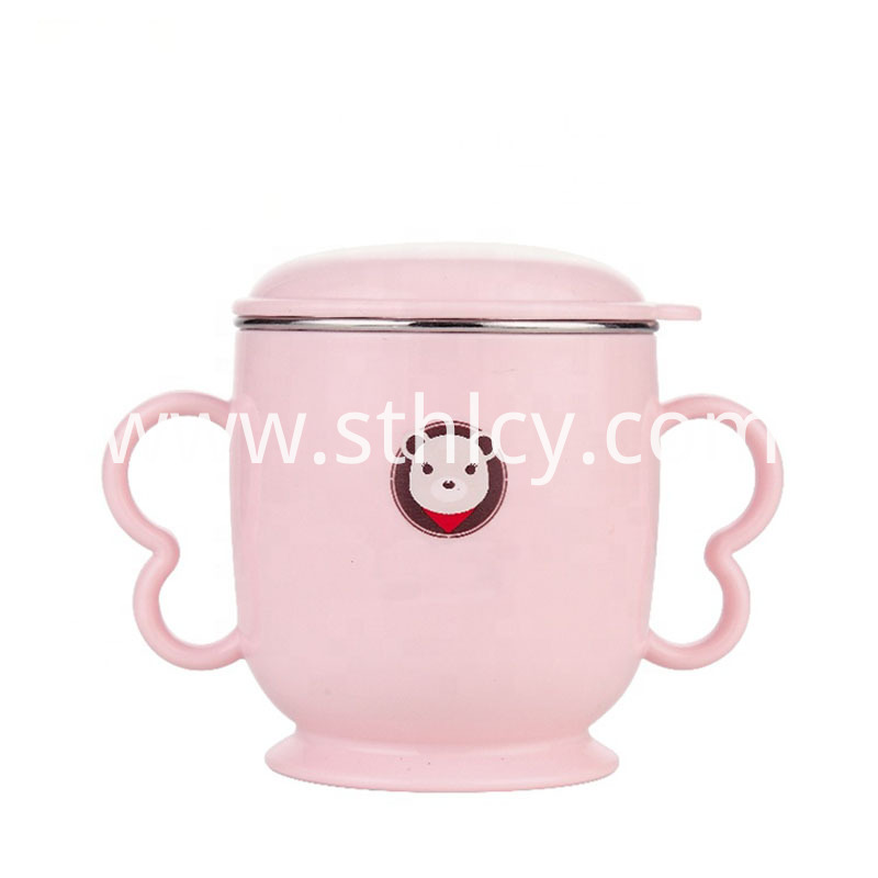 Metal Double Wall Detachable Small Mug
