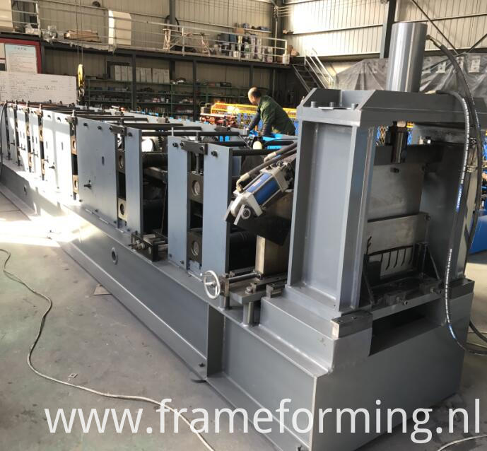 CZ purlin roll forming machine 4