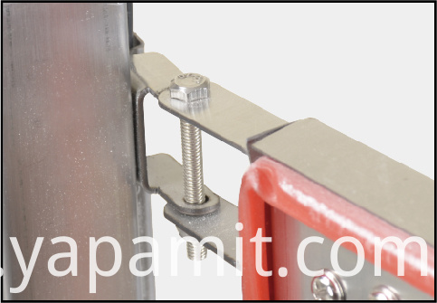 Stainless steel solid link shaft