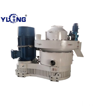 Yulong wheat straw pellet press used