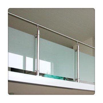 16mm Sandblasting Opaque Laminated Tempered Glass