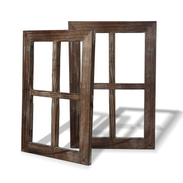 Rustic Wall Decor Window Barnwood Frames