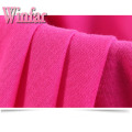 Plain Dye Single Jersey Polyester Spandex Knit Fabric