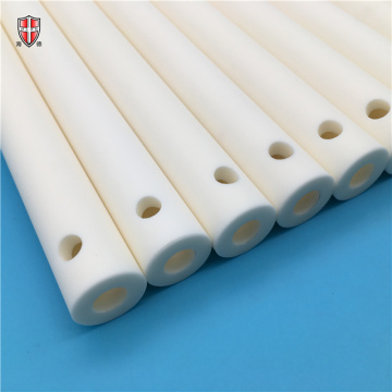 99% alumina long ceramic tube pipe sleeve