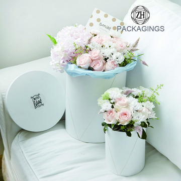 Hot sale cardboard packaging box for flower
