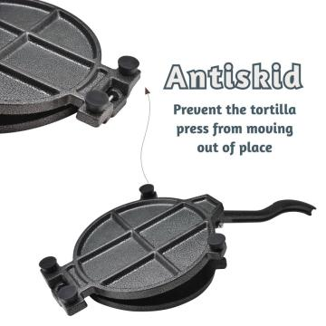 10.5'' Corn Flour Roti Flatbread Press Tortilla Maker