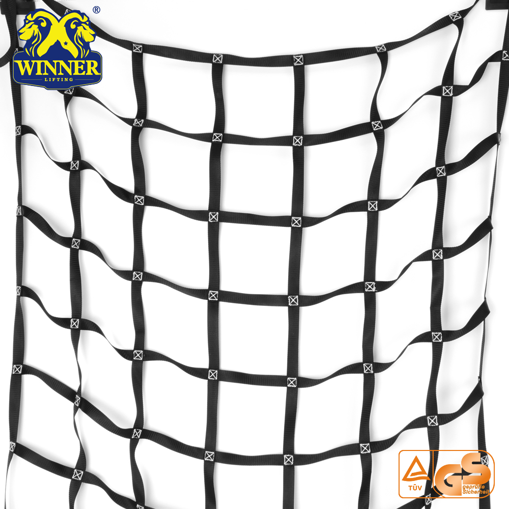 Hot Sell Mesh Wire Rope Tretch Bungee Truck Bed Net Cargo Net