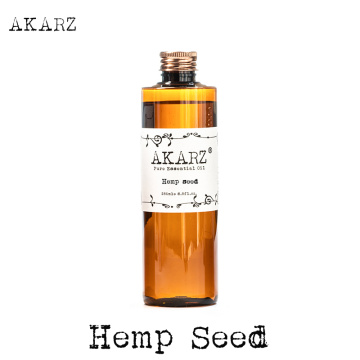 AKARZ Famous brand Hemp seed oil 15000mg natural aromatherapy high-capacity skin body care massage Hemp seed essential oil