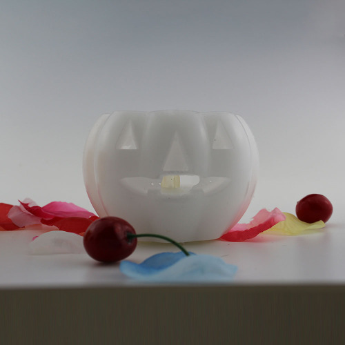 Halloween Pumpkin Shaped LED Candle