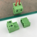 2 poles 7.62mm pitch pluggable terminal block