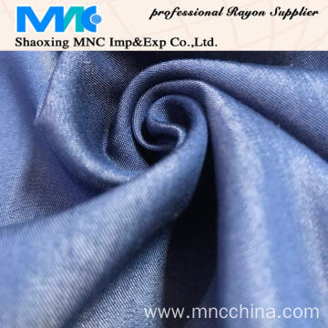 hot selling T/R  denim yarn dyed fabric