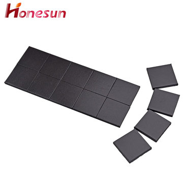 Die cut small piece Rubber Magnet type adhesive