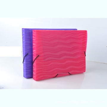 A4 plastic file case storage box
