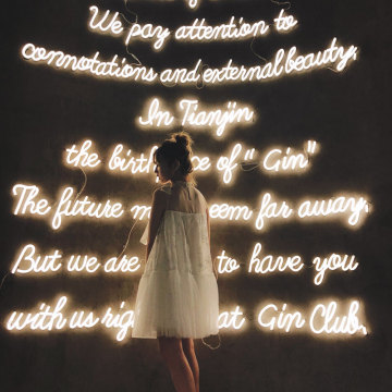 GIRL'S FAVOR WORD WALL LED NEON LETTERS