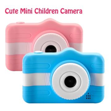 Children's Camera Cute Cartoon Mini Digital Camera For Kids 3.5 Inch 12MP 1080P Photo Video Camera Child Birthday Christmas Gift