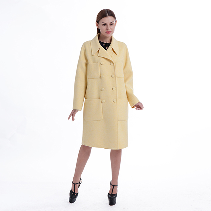 New styles yellow winter outwear