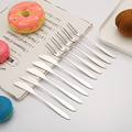 Stainless Mooncake Dessert Pastry Knife and Fork Set