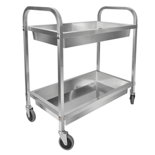 Stainless Steel Bowl-Collected Cart