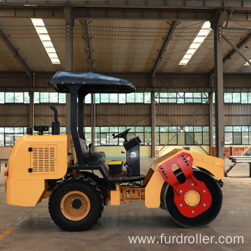 3 ton vibration road roller tire roller rubber tire road roller for sale FYL-D203