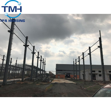 flexible design pre engineering steel structure warehouse