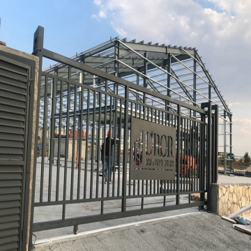 Prefab metal steel structure prefabricated main steel frame