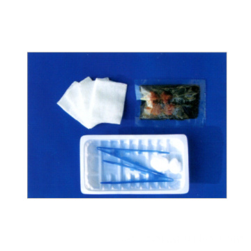 One-time use of medical dressing kit