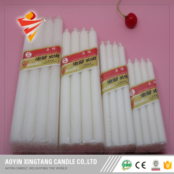 10g White Candle 10PCS Packed to Iraq