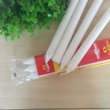 Relighting Household Paraffin Wax White Candle