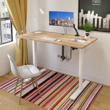Manual Height Metal Frame Adjustable Office Workstation