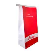 Motion air sickness vomit paper bag