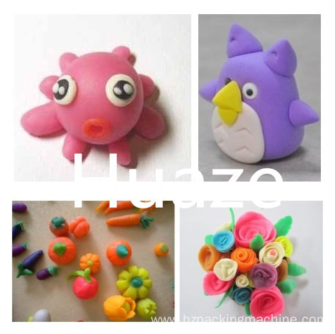 Plasticine modeling clay intelligent plasticine packing machine
