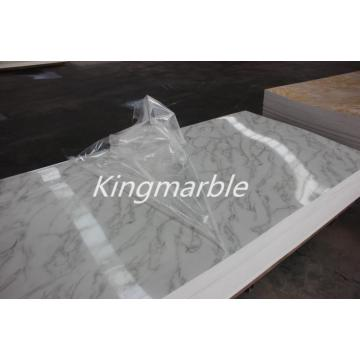Artificial PVC Marble Table Panel With Good Price