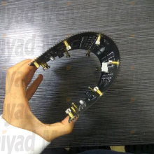 P3 indoor flexible LED module curved screen