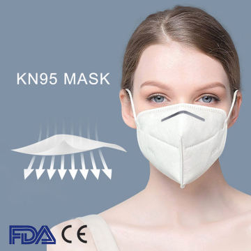 FFP2 KN95 Antivirus Disposable Dust Face Mask
