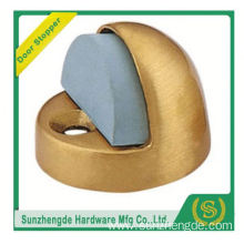 SZD SDH-004BR small wooden boxes handmade stainless steel automatic magnetic door stopper