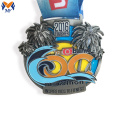 Custom bank event marathon medal