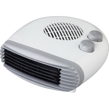 2400w flat fan heater with thermostat control