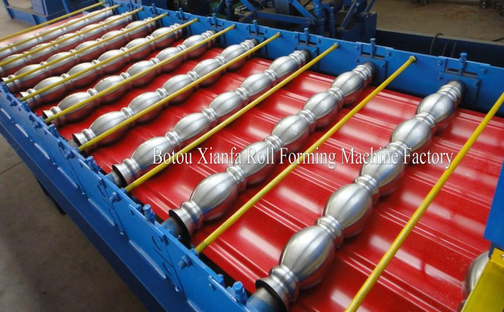 Roof Steel Glazed Tile Roll Forming Machine