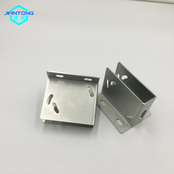zinc plated sheet metal bracket stamping bending parts