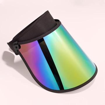 Long rainbow sun visor cap sun shield