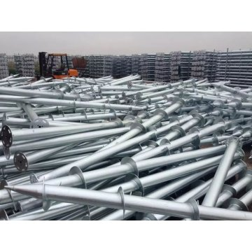 Big blade Ground Screw Piles