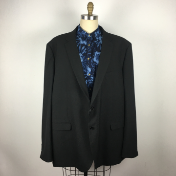 Customer design Men's plus size Classic black western suit